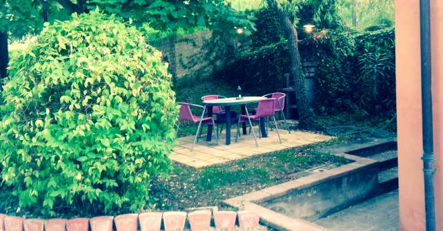 giardino appartamento Paulownia
