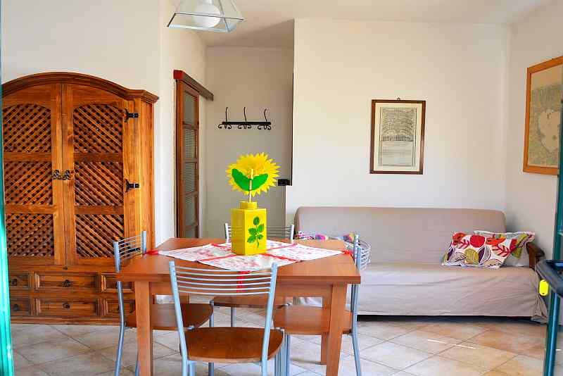 soggiorno appartamento Paulownia