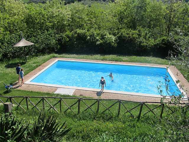 piscina agriturismo Umbria