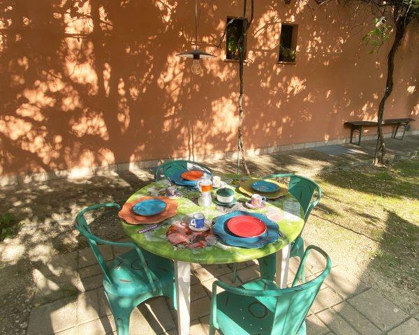 Giardino appartamento Umbria